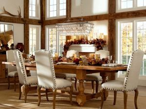 CLARISSA GLASS DROP EXTRA-LONG RECTANGULAR CHANDELIER. Pottery Barn
