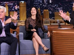 """Actress Lucy Liu, Jay Leno and Jimmy Fallon talk about the new season of Lucy Liu's show """"Elementary"""", which also happens to be one of Jay's favorite shows!"""