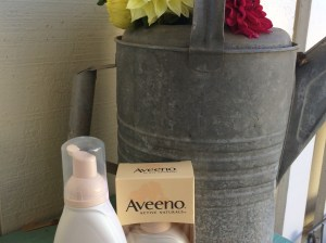 I love Aveeno Ultra-Calming Makeup Removing Wipes (not shown), Aveeno Ultra-Calming Cleanser, Aveeno Ultra-Calming Daily Moisturizer with SPF 15 for my sensitive skin! Candace Rose, Aveeno Ambassador