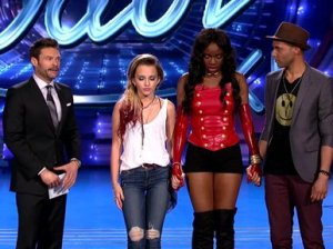 Tonight on American Idol we had to say goodbye to two talented musicians, country singer Maddie Walker and Adanna Duru. You may remember the judges used their one and only save on the highly talented Qaasim Middleton, and due to that save there was a double elimination.