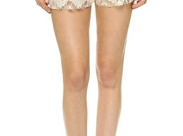 Love Sadie Eyelet Lace Shorts in White