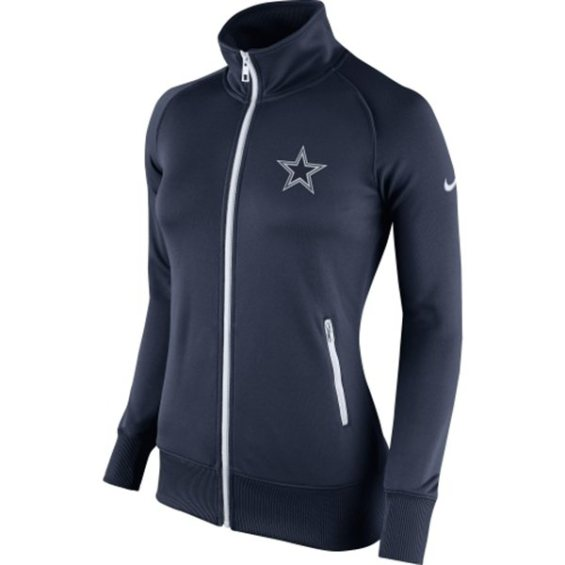 Women S Dallas Cowboys Gray Splendora Raglan Long Sleeve T