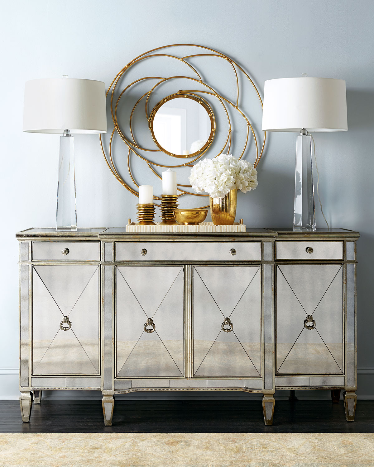 Horchow Columbus Day Sale 30 Off Mirrored Furniture Must