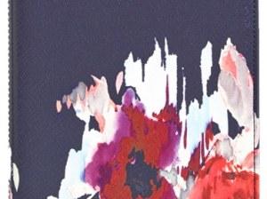 kate spade new york 'hazy floral' iPad Mini hardcase folio in red multi