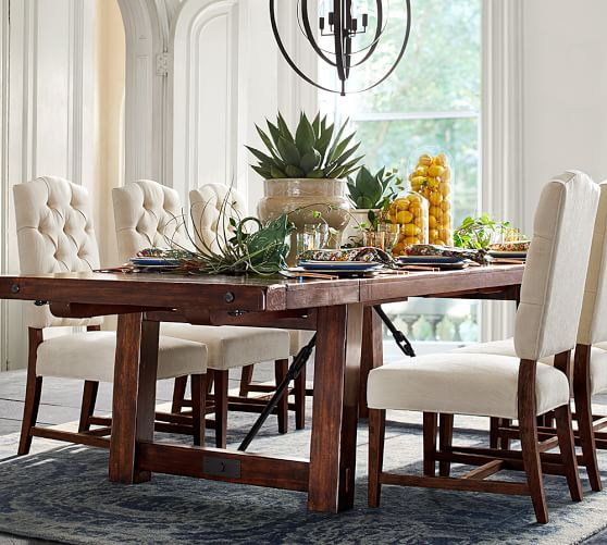 Pottery Barn Dining Event Save 20 On Dining Tables  : BENCHWRIGHT EXTENDING DINING TABLE Pottery barn Dining event sale from candieanderson.com size 558 x 501 jpeg 60kB