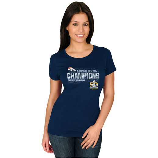 Super Bowl 50 Champion Denver Broncos Women's Shirts and ...