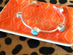 Every girl should be two things, classy and fabulous! Loving my Larimar cuff sparkle.