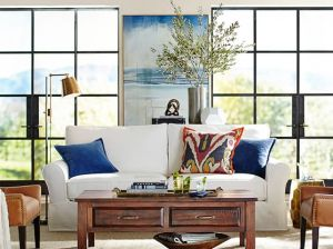 Pottery Barn BENCHWRIGHT RECTANGULAR COFFEE TABLEpottery barn occasional table and media furniture sale candace rose