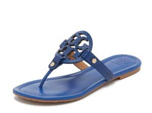 Tory Burch Miller Sandals Hudson Blue shopbop surprise sale for spring