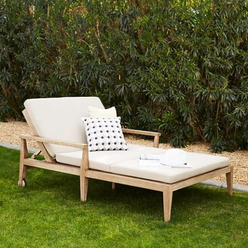 West Elm Outdoor Furniture Sale Save 30% f Select Outdoor Dining Chaise L