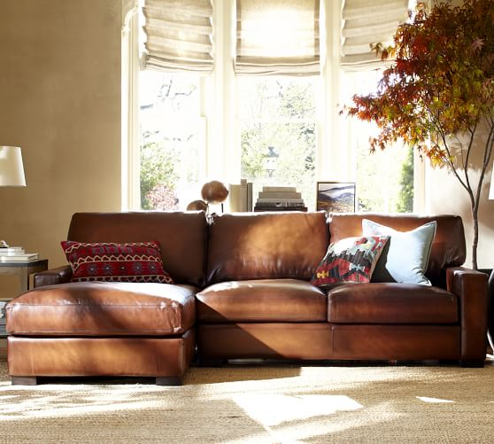Leather Sofa Pottery Barn Knock Off: Pottery Barn Leather Furniture Sale! Save 15% On Leather