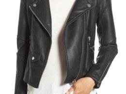 BLANKNYC 'Easy Rider' Faux Leather Moto Jacket Black 2016 Nordstrom anniversary sale women's jackets, coats fall winter