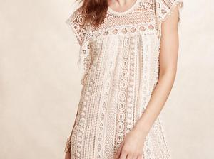 Maeve Crochet Tunic Dress Sand tunic dresses summer 2016