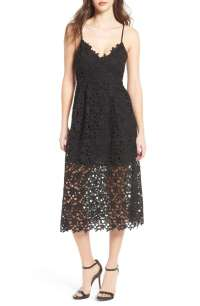 Chic Lace A-Line Dresses For Wedding Guests!