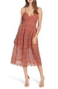 The Best Lace Wedding Guest Dresses Under $100 For Fall 2017!