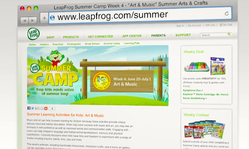6a01127964c54a28a40177433c2f06970d 500wi Interview: Summer Fun for Kids with Dr. Jody Sherman LeVos, Learning Designer at LeapFrog