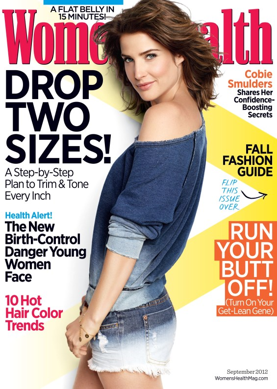 WH 729x1024 How I Met Your Mother Star Cobie Smulders Covers Womens Health in September!