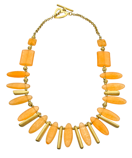 Gala 08102012 018 coral gold bib necklace L Sale Alert! Max&Chloe Jewelry Labor Day Sale Favorites! 