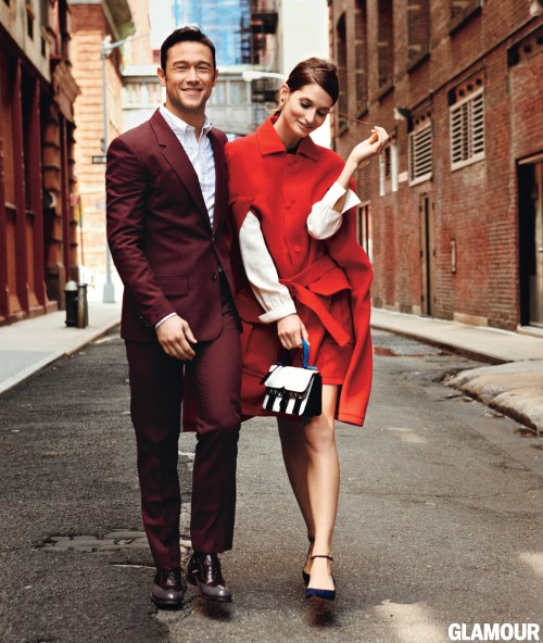 JGL Glamour1 863x1024 Celeb Images: Joseph Gordon Levitt Joins Glamour in October!