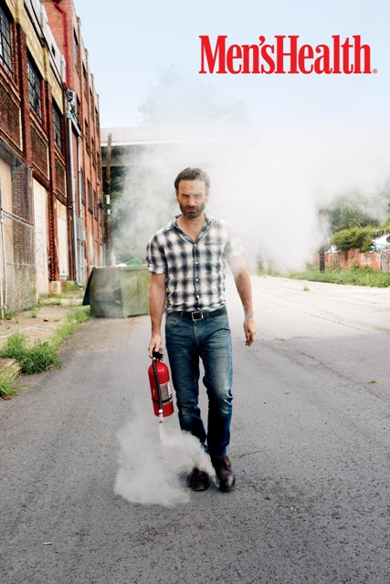Mens Health Andrew Lincoln 3 photo credit Ture Lillegraven Celeb Images: AMCs The Walking Dead Star Andrew Lincoln Covers Mens Health in October