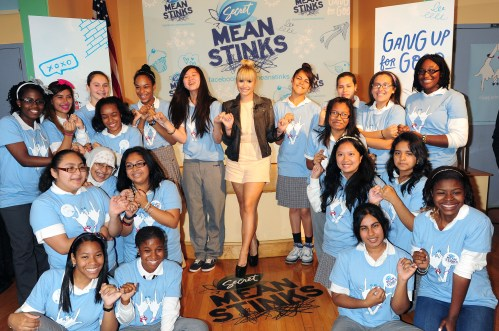 ViewMedia6 1024x681 X Factor Judge & Pop Star Demi Lovato Joins Mean Stinks Anti Bullying Campaign