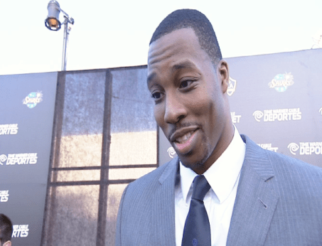 dwight howard 1 Images + Video: David Beckham, Magic Johnson, Kobe Bryant & LA Athletes Celebrate the Launch of Time Warner Cable SportsNet Networks