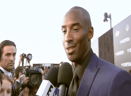 kobe bryant  Images + Video: David Beckham, Magic Johnson, Kobe Bryant & LA Athletes Celebrate the Launch of Time Warner Cable SportsNet Networks