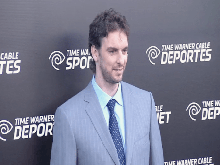 pau gasol Images + Video: David Beckham, Magic Johnson, Kobe Bryant & LA Athletes Celebrate the Launch of Time Warner Cable SportsNet Networks