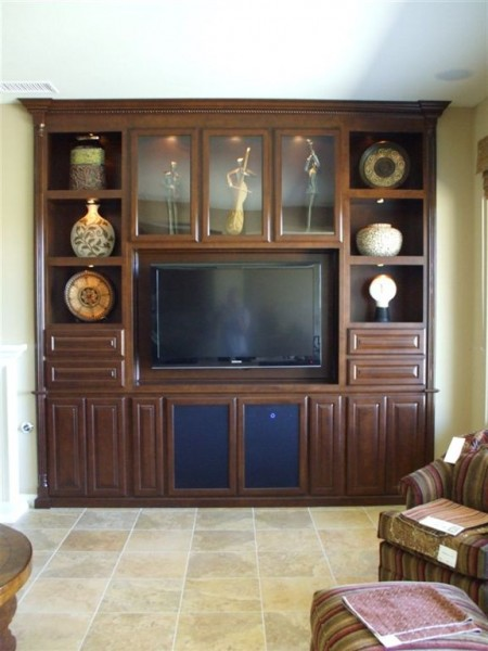 Custom Home Builders In Los Angeles Flat Screen Tv Built In Wall Unit | C & L Design