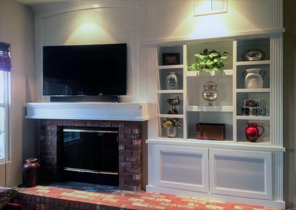 Custom Entertainment Centers Designed   Built   Installed C \ L   Custom  Living Room Cabinets Part 85