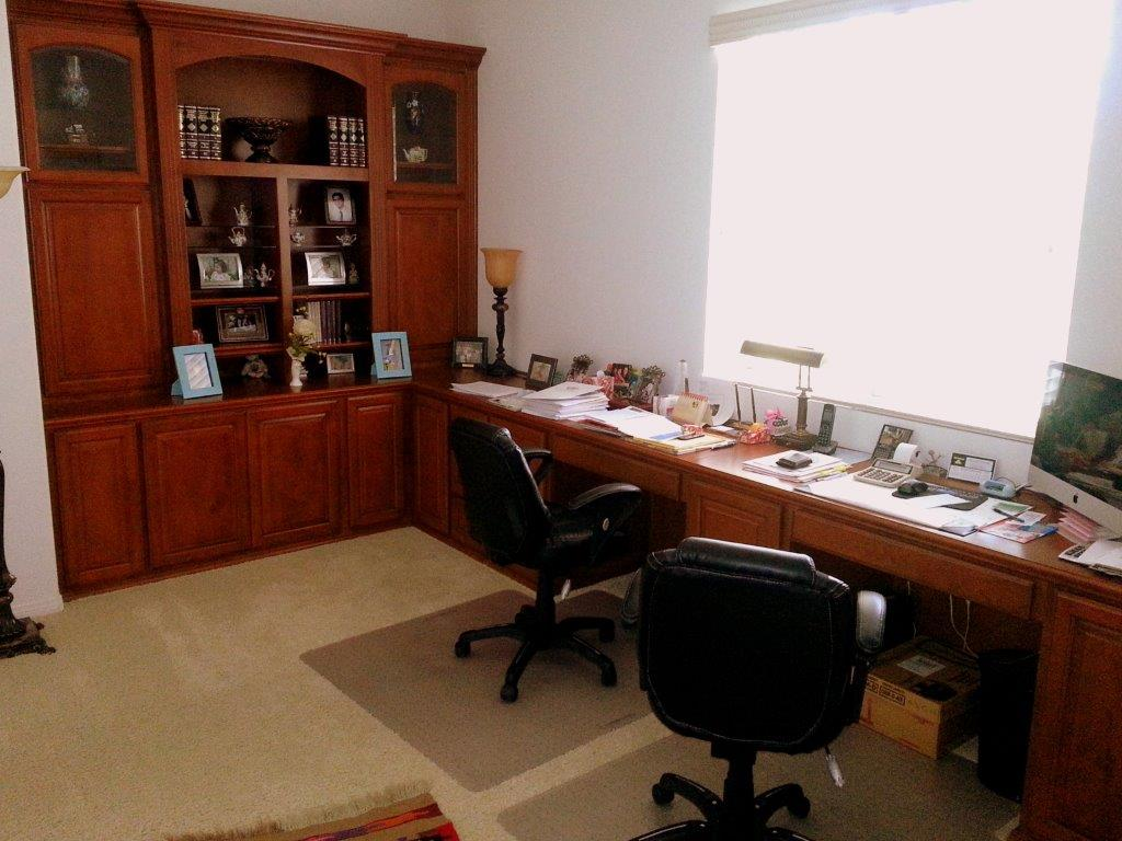 Custom Home Builders In Los Angeles Dual Workstation Home Office Furniture