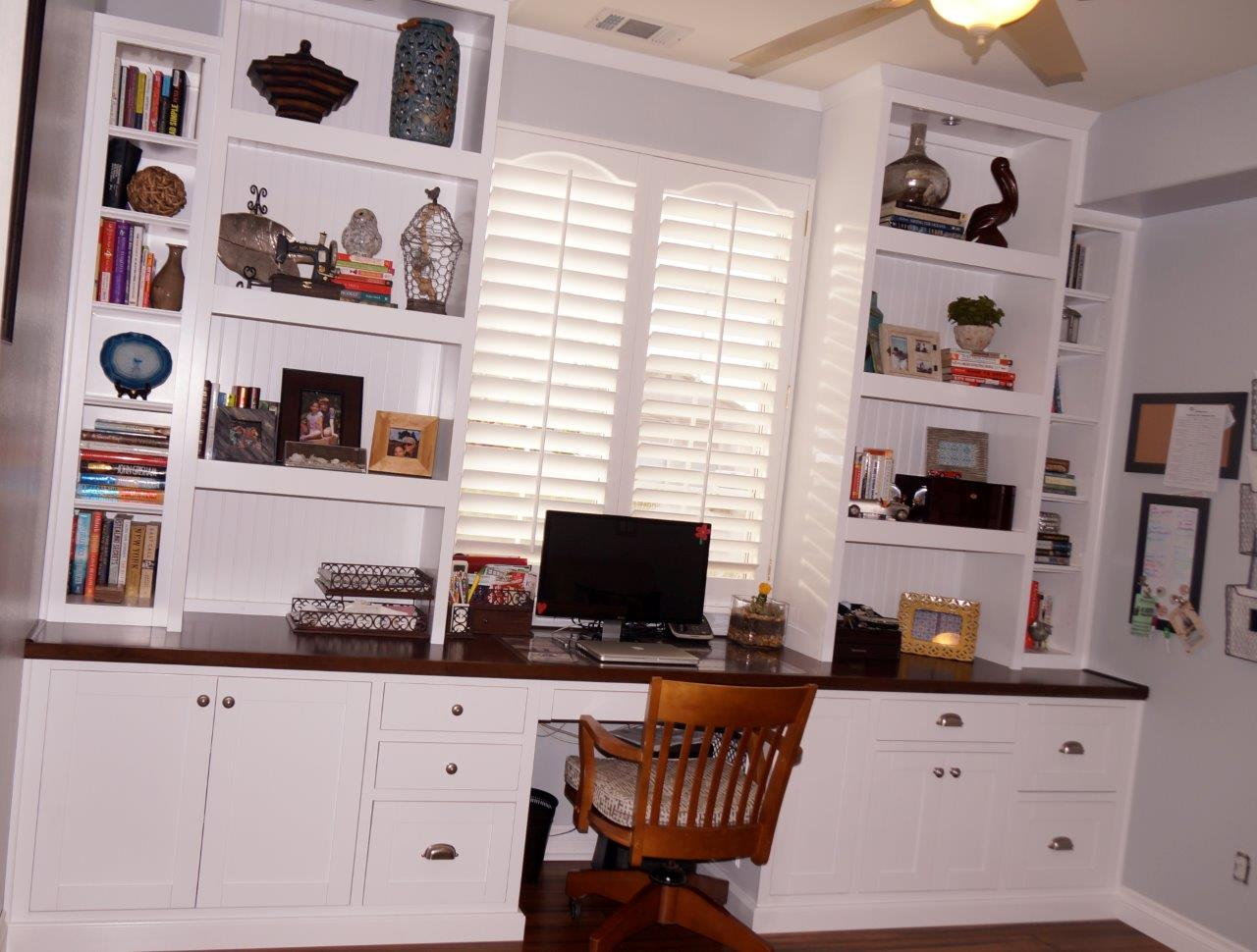 Home Office Cabinets Desk Cabinets For Your Home Office C L Design Specialists Inc