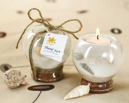 Sand & Shell Candle Holder