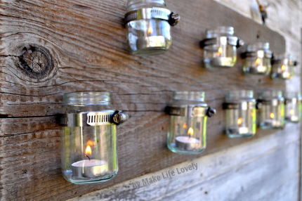 Baby Food Jar Tealight Holder @ Craft Gossip