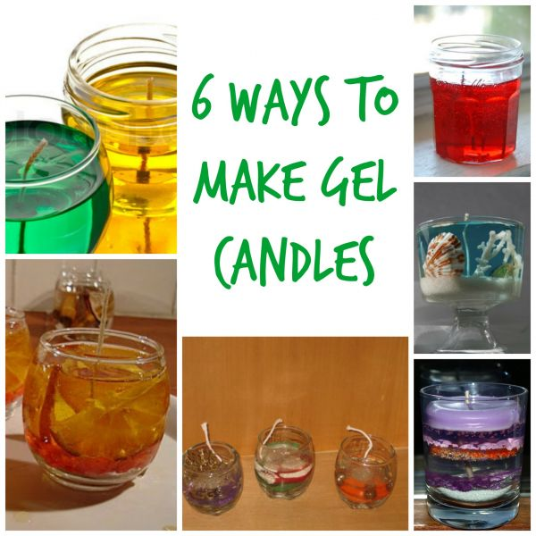 6 ways to make gel candles candle making. Black Bedroom Furniture Sets. Home Design Ideas