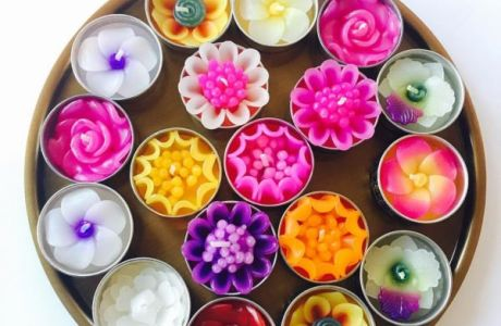 Stunning Diwali Candles