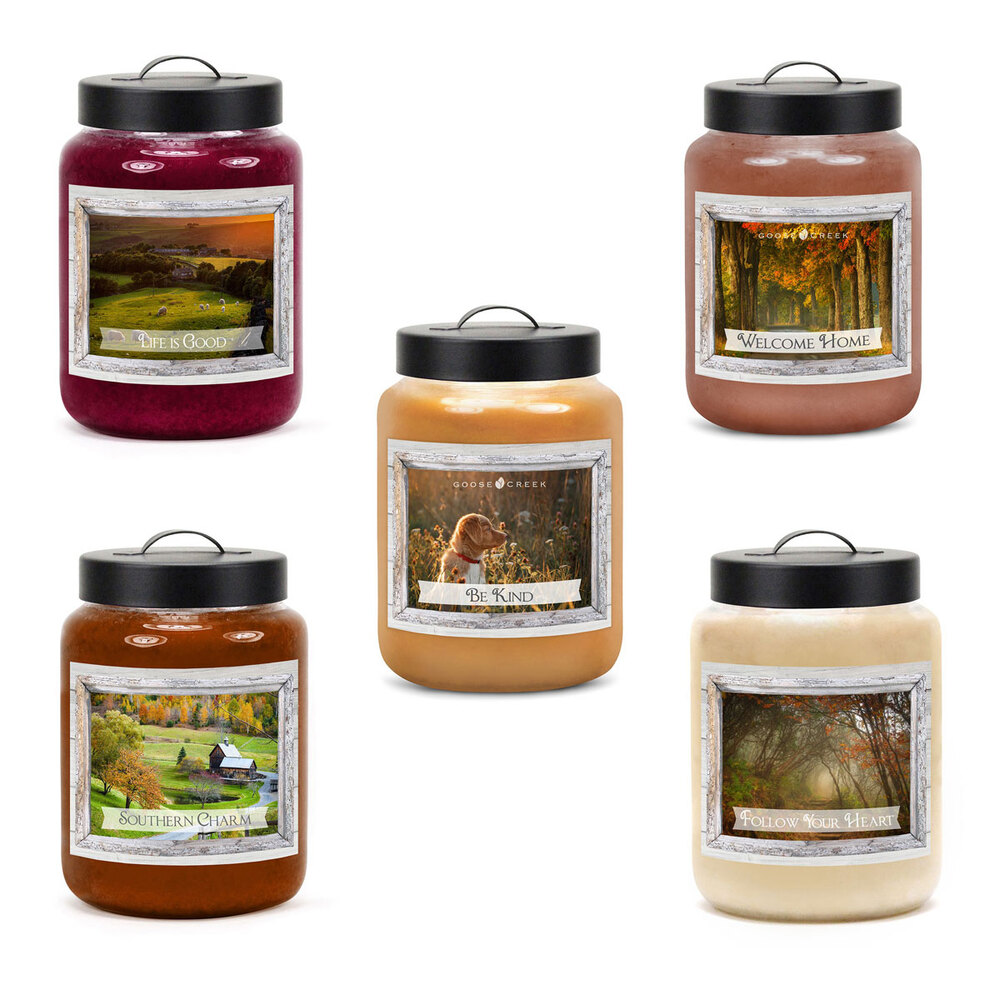 Most Fragrant Candles Goose Creek Beautiful Life 24oz Large Scented 2 Wick