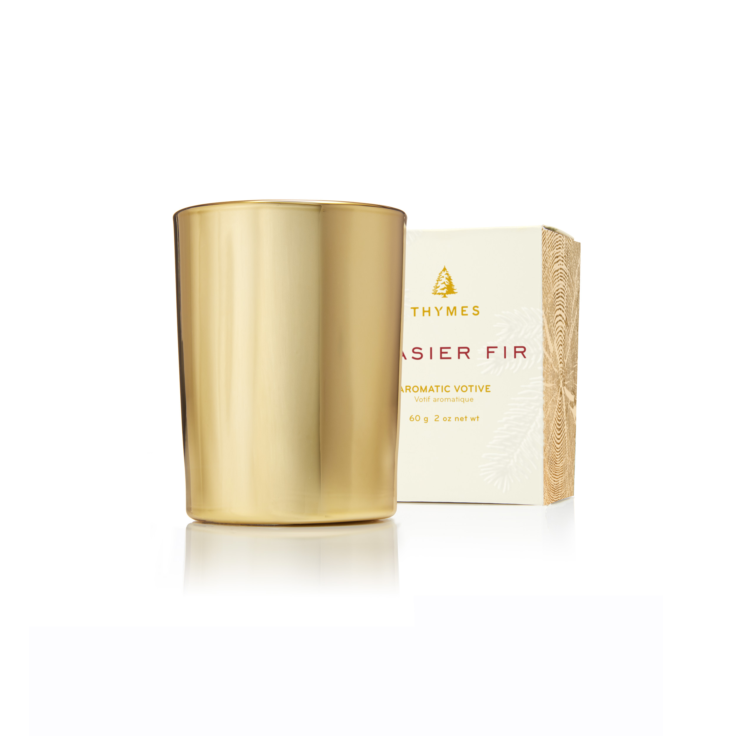 Lampe Berger New York Thymes Frasier Fir Gold Votive Candle Candles Off Main