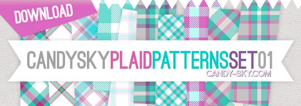 Download: Plaid Pattern Set 01