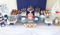 Preferential Nautical Candy Navy Desssert Table Www Nautical Whale Baby Shower Dessert Table Cw Boy Baby Shower Ideas Sports Boy Baby Shower Ideas Ducks