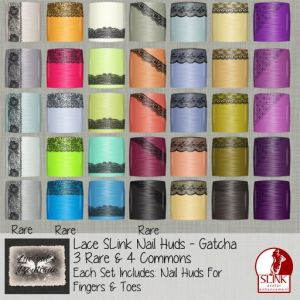 lyrs boutique nail add lace gatchas