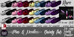 --[Pins & Needles]-- Dainty flats AD