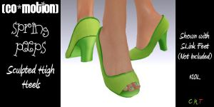 {Co_Motion} Spring Peeps Heels (Advert)
