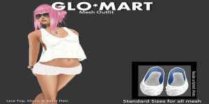 GLO_MART Smitty- Summer White