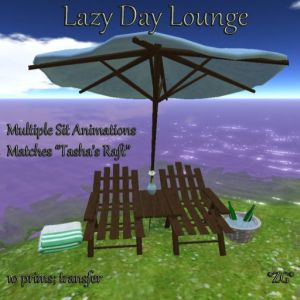 Lazy Day Lounge AD - MATCHES TASHA'S RAFT