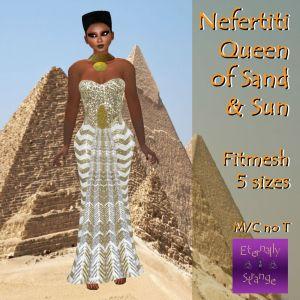 TCF Nefertiti Gown Ad
