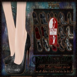 TCF Pirate Heels Plastik