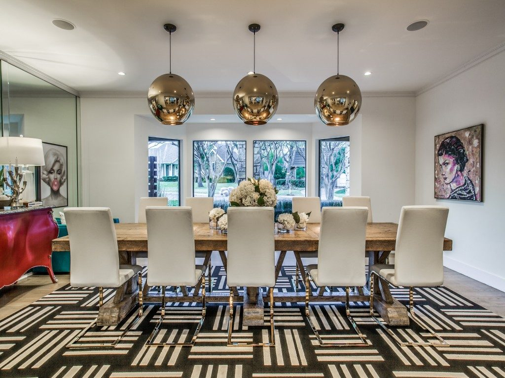 Chic Contemporary Modern Wallpaper Clay Stapp Co Residential Real Estate Broker Dallas Tx