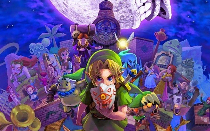 Majoras Mask 3d Wallpaper Hd The Legend Of Zelda Majora S Mask The Cane And Rinse