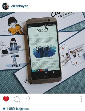Cizenbayan instagram screenshot